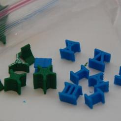 Free stl Risk Pieces (Star and Roman Numeral), billythemighty3Dprinter