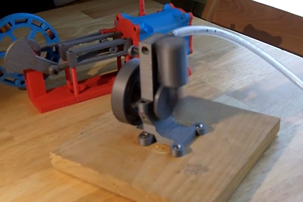 OSE_Action_Shot_display_large_display_large.jpg Download free STL file Working Oscillating Steam Engine MKI • Object to 3D print, billythemighty3Dprinter