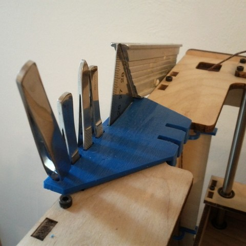 Free 3D print files Over the Edge Tool Holder, billythemighty3Dprinter
