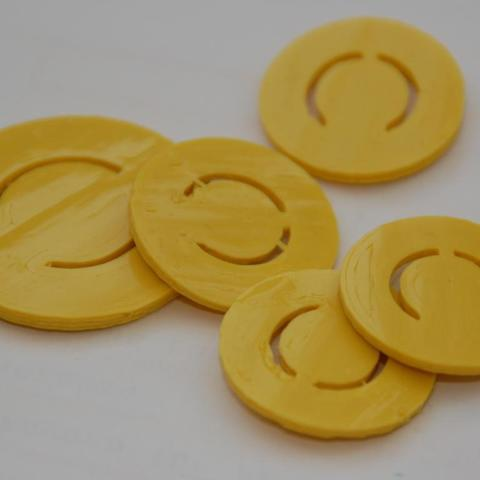 Download free 3D printing designs Candy Coins, billythemighty3Dprinter