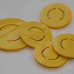 Free STL files Candy Coins, billythemighty3Dprinter