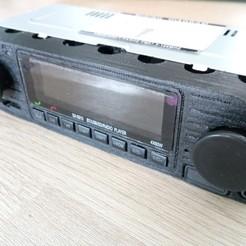 IMG_20200719_110023.jpg Download STL file 1DIN bluetooth USB car radio front panel • Template to 3D print, ledieu_jonathan