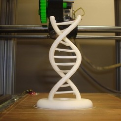 Download free 3D printing designs Reprap Double Helix, Kellywatchthestars