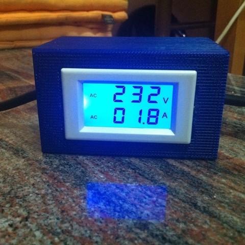 Télécharger modèle 3D gratuit Ampèremètre / voltmètre à boîtier, Kellywatchthestars