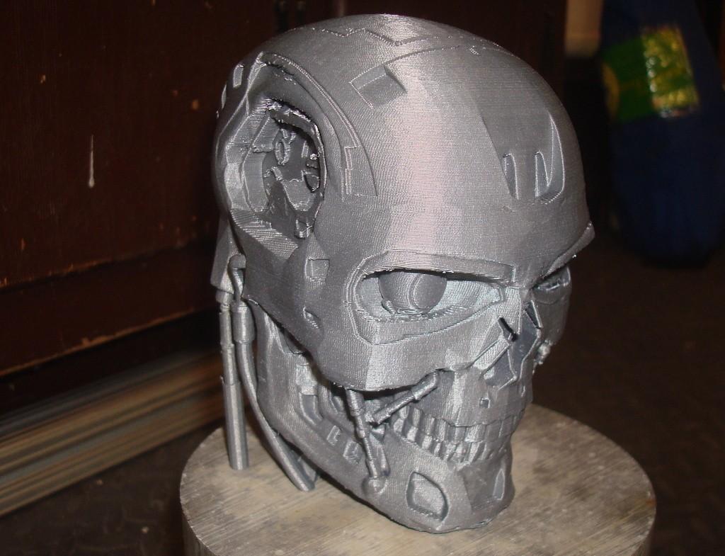EXS2_display_large_display_large.jpg Download free STL file T-800 Terminator Exoskull • 3D printer model, Kellywatchthestars