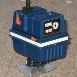 Free 3D printer designs Power Droid, Kellywatchthestars