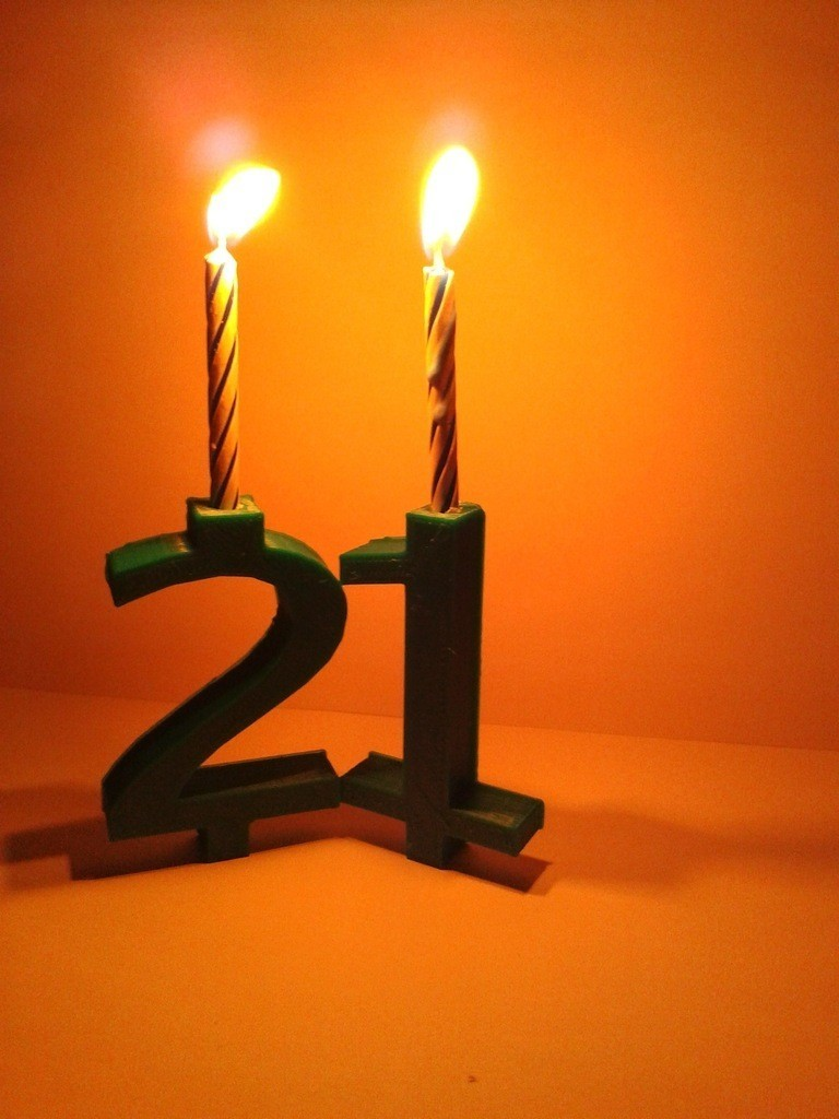 2012-08-11_22.11.14_display_large.jpg Download free STL file Basic Number Candle - Birthday Candle • 3D printable template, Kellywatchthestars