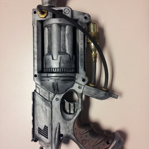 Télécharger objet 3D gratuit Steampunk Nerf Parts, Kellywatchthestars