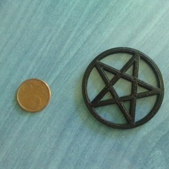 Free 3D printer files Pentacle, Kellywatchthestars