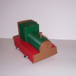 Download free STL file Train toy - Chucuchú • 3D printing template, Kellywatchthestars