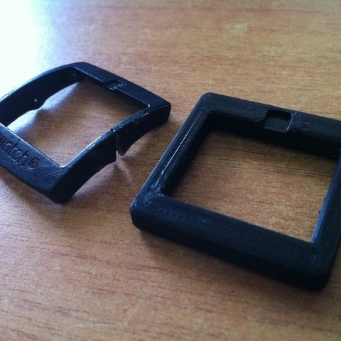 Free stl file Swatch Buckle for Scuba, Kellywatchthestars