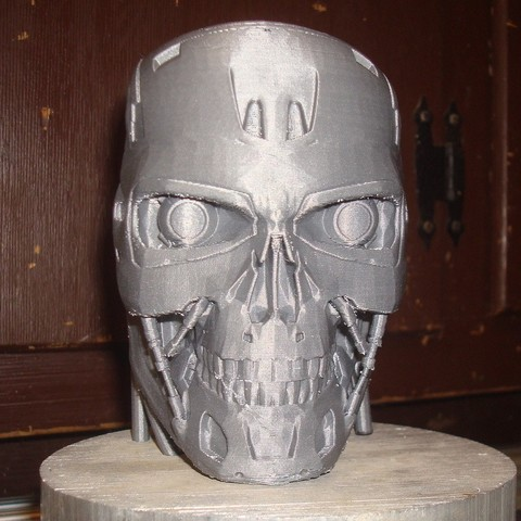 Download free 3D printer designs T-800 Terminator Exoskull, Kellywatchthestars