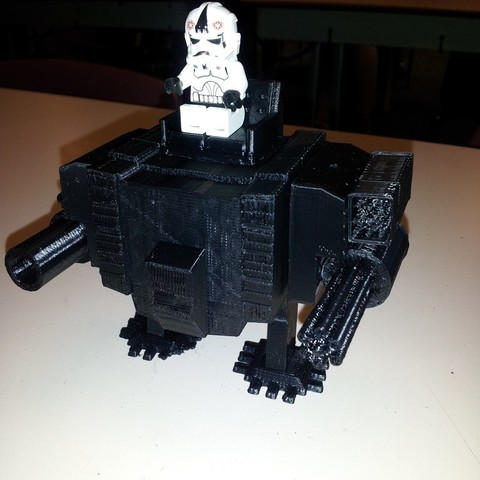 Download free STL file MiniFig Mech 3.0, Kellywatchthestars