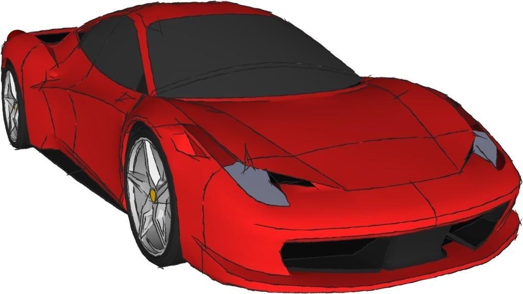 ferrari_458_kit_display_large.jpg Télécharger fichier STL gratuit Kit modèle Ferrari 458 • Modèle pour impression 3D, AliSouskian