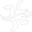 Télécharger fichier impression 3D gratuit Lézard tessellant à la Escher-Style /, JeremyRonderberg93