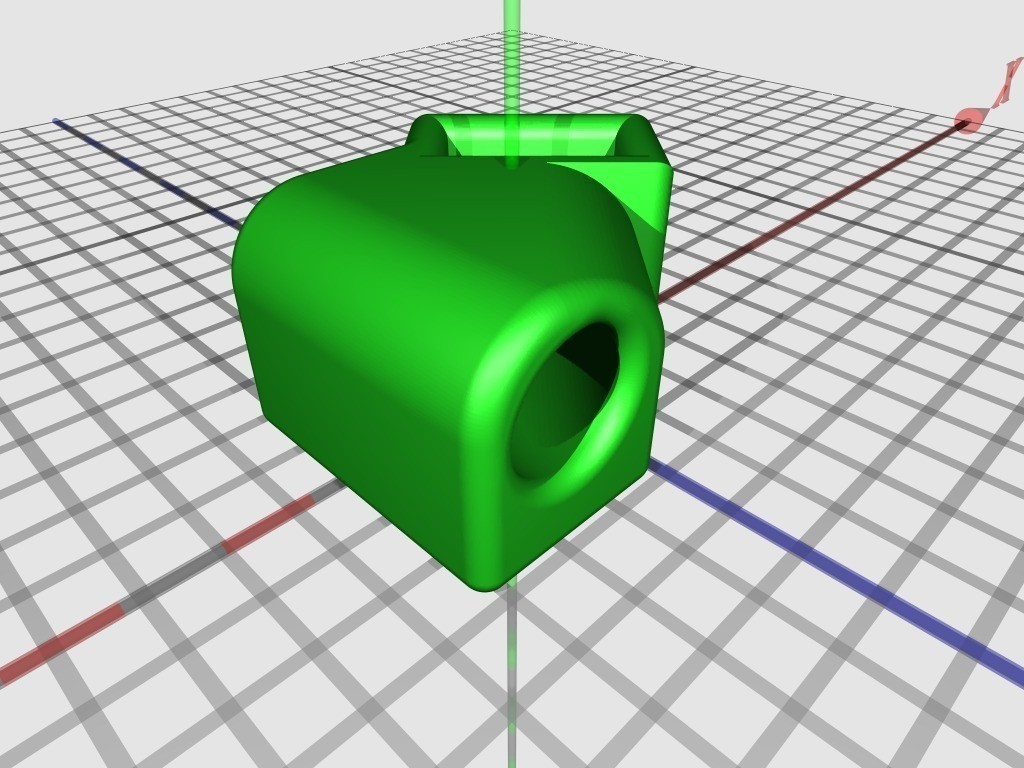 45degree_Rod_Joint_display_large_display_large.jpg Download free STL file 45° Rod Joint • 3D printable template, JeremyRonderberg93