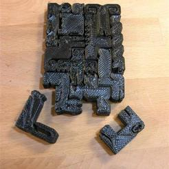 Free 3D printer model Chinese zodiac pentominoes, JeremyRonderberg93