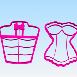 Download 3D printing files sexy cookie cutter, BlackSand3DMaker
