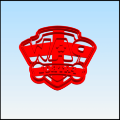 Descargar archivo 3D paw patrol cookie cutter, BlackSand3DMaker