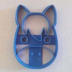 Descargar modelos 3D para imprimir horse cookie cutter, BlackSand3DMaker