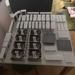 Download 3D printer templates Mansions of Madness 1st Edition Board Game Organizer, alphacores