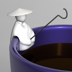 Descargar archivo 3D gratis bolsita de té de pescador, be711