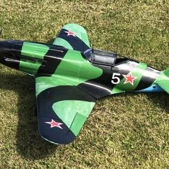 IMG_6719.jpg Descargar archivo STL Mig-3 Soviet Fighter (RC plane 1105mm wing) • Objeto para impresión 3D, be711