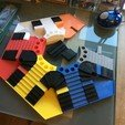 Download 3D printing templates Parchis of 6 seats, Ludo king, rogerpoland