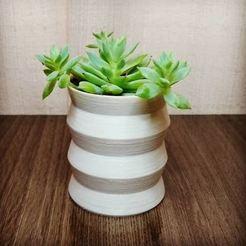 fichier imprimante 3d Vase géométrique, tr3sdproto