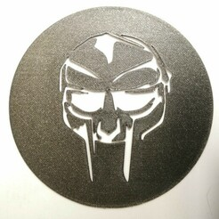 IMG_20210101_173057.jpg Download free STL file MF DOOM Wall Art Portrait / Stencil - One piece • 3D printable design, MetaSeb