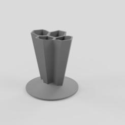 Impresiones 3D gratis Porta cepillo de dientes, CR10Maker