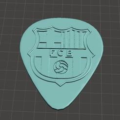 Descargar archivos STL Pua Guitarra Barcelona perzonalizado, Nerco7
