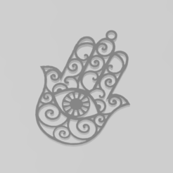 Download 3D printing files hand of fatima, Nerco7
