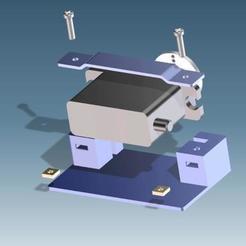 explo2.jpg Download free STL file Servomount HITEC HS82MG • 3D printable design, rtoenshoff