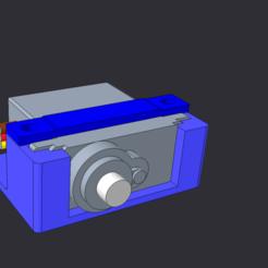 Impresiones 3D gratis CORONA CS-929MG Soporte para servos, rtoenshoff