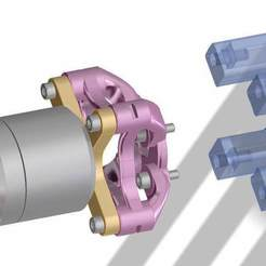 cad-view-4.jpg Download free STL file Engine mount for brushless motor • Model to 3D print, rtoenshoff