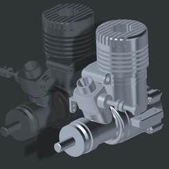os25.jpg Download free STL file O.S.25 RC Engine • 3D printable design, rtoenshoff