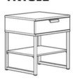 3D print files Extension bedside table TRYSIL Ikea, thibaut-soete