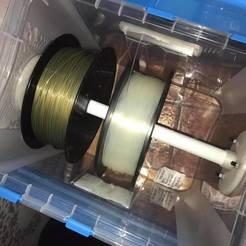 3D print model dry box coil holder, theo0dubois