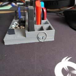 90492503_2836007219853196_2180574979446276096_n.jpg Descargar archivo STL gratis Soporta una llave USB, una tarjeta Sd y una tarjeta micro SD • Diseño para la impresora 3D, ebe14160