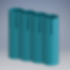 batteryHolder2.stl Télécharger fichier STL gratuit 18650 support • Modèle pour imprimante 3D, TheRa