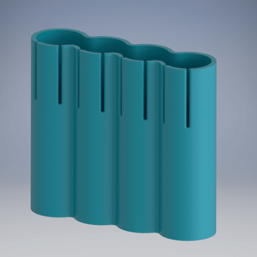 batteryHolder2.png Télécharger fichier STL gratuit 18650 support • Modèle pour imprimante 3D, TheRa