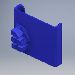 Download free 3D printing designs Fiat Bravo Vent Phone Holder, TheRa