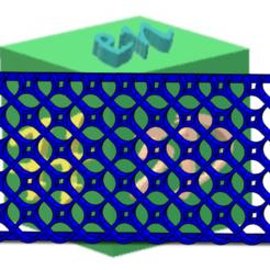 TRAMA ROMBOS REDONDEADOS.png Télécharger fichier STL gratuit TISSU - ROMBOS • Design à imprimer en 3D, hechoen3dargentina