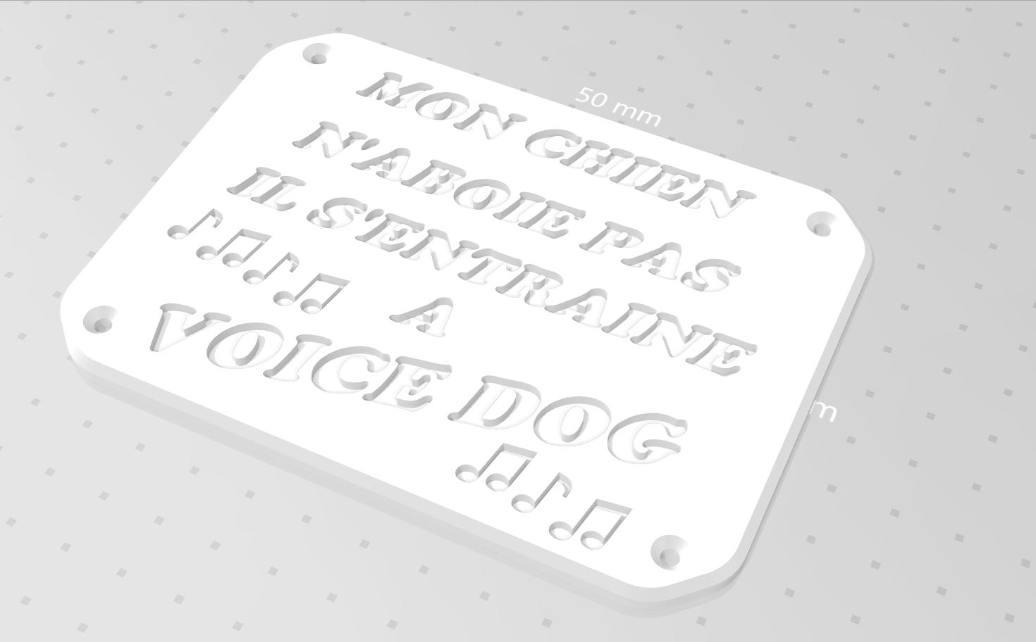 Capture d'écran.png Télécharger fichier STL gratuit PLAQUE DE MISE EN GARDE • Design pour imprimante 3D, zarghan
