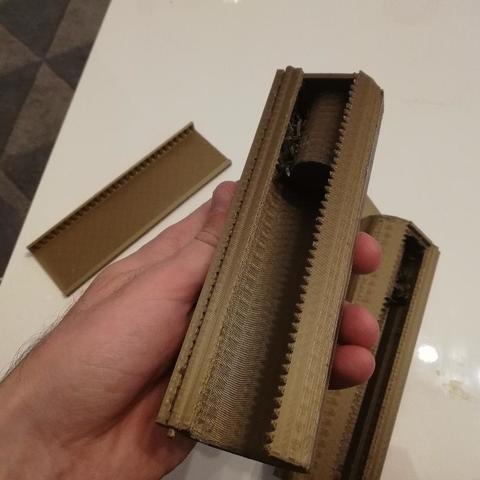 Fichier imprimante 3D gratuit coupe filme plastique , alardmathieu