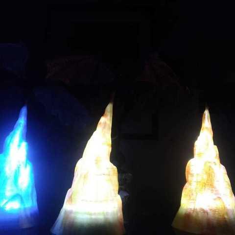 Download 3D printer templates Dragon GoT Lamp, Deeplink