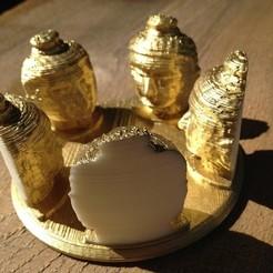 Free 3D printer model Buddha Cylinder, aliregunhito