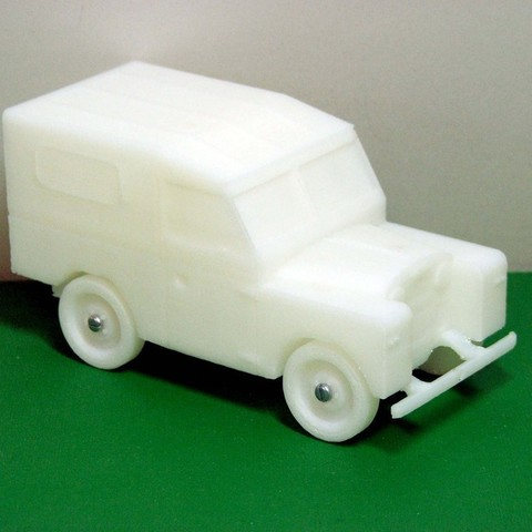 Download free 3D printer designs Series 1 Land Rover, Terryjenkins3D