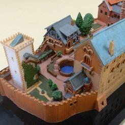 P1010571a_display_large.JPG Télécharger fichier STL gratuit Kitset Château de Wartburg • Plan imprimable en 3D, zootopia3Dprints